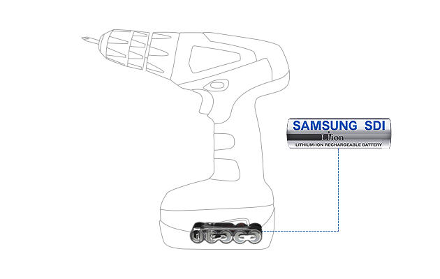 Samsung SDI Li-ion Battery – Power Tool